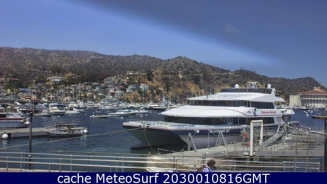 webcam Santa Catalina Los Angeles