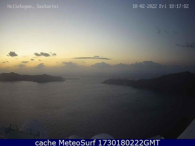 webcam Santorini Thira