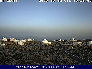 webcam Gran Canaria desde Izaña Santa Cruz de Tenerife