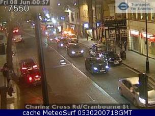 webcam Trafalgar Square Londres