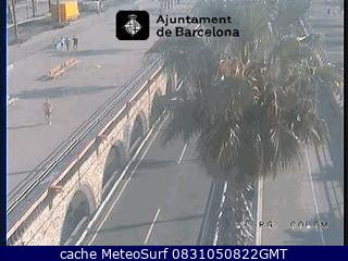 webcam Barcelona Ronda Litoral Barcelona
