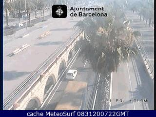 webcam Barcelona Ronda Litoral Barcelona
