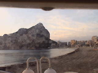 webcam Calpe Fossa Alicante
