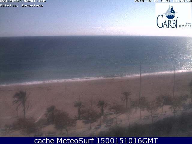 webcam Costa Brava Calella Hotel Barcelona