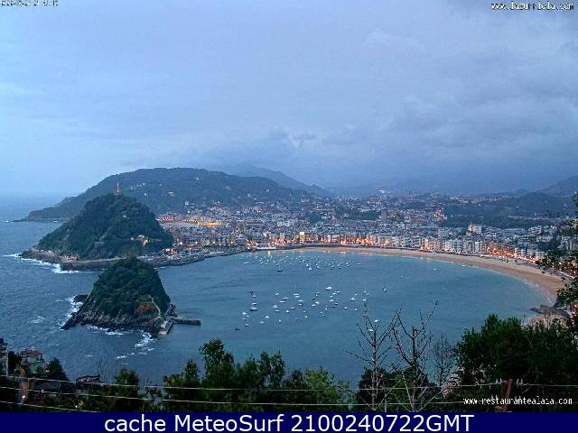 webcam La Zurriola Guip�zcoa
