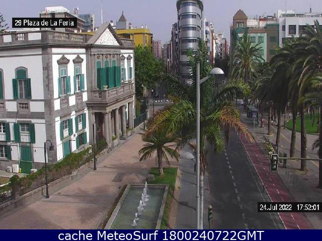 webcam Plaza de la Feria Las Palmas