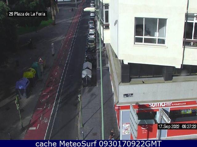 webcam Plaza de la Feria Las Palmas