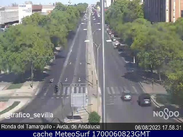 webcam Ronda del Tamarguillo Avda de Andalucía Sevilla