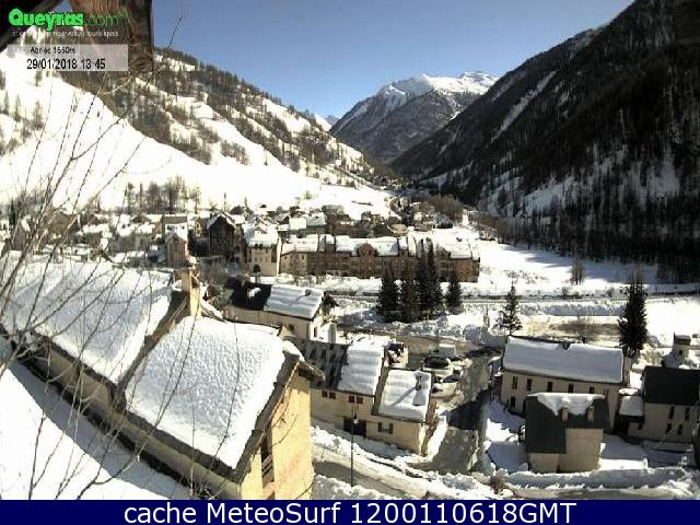 webcam Abriès Hautes Alpes