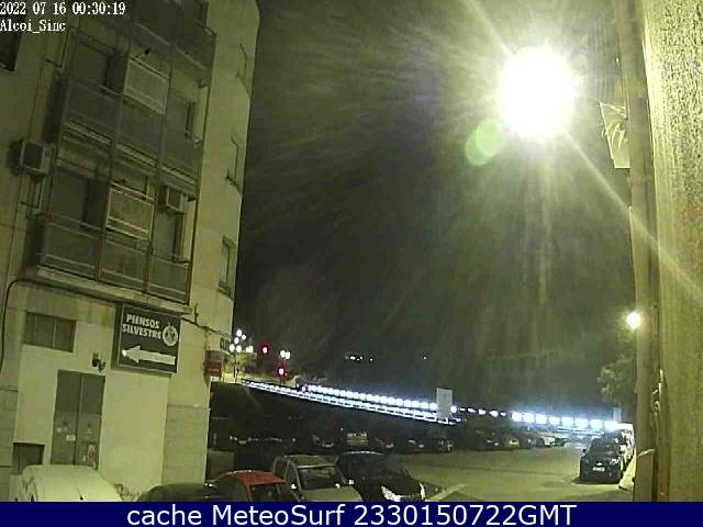 webcam Alcoy Alicante