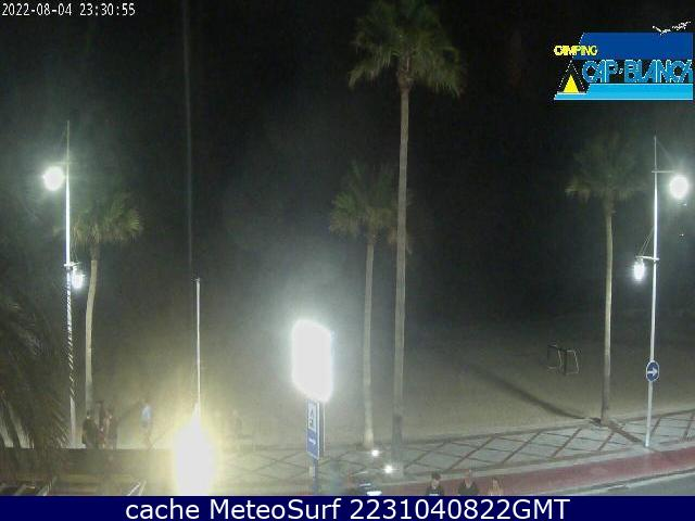 webcam Cap Blanch Alicante