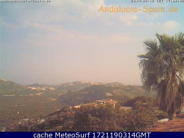 webcam Almuecar Costa del Sol Granada