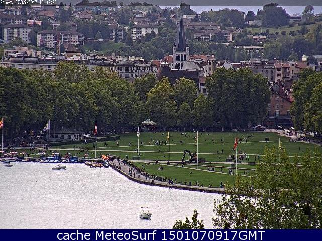 webcam Albigny  Annecy Haute Savoie