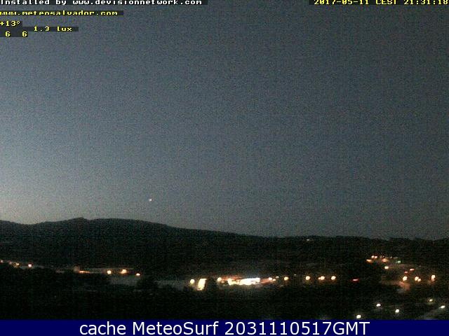 webcam Arenys Maresme Barcelona