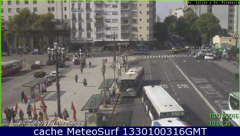 webcam Av. Callao y Av. Rivadavia Buenos Aires
