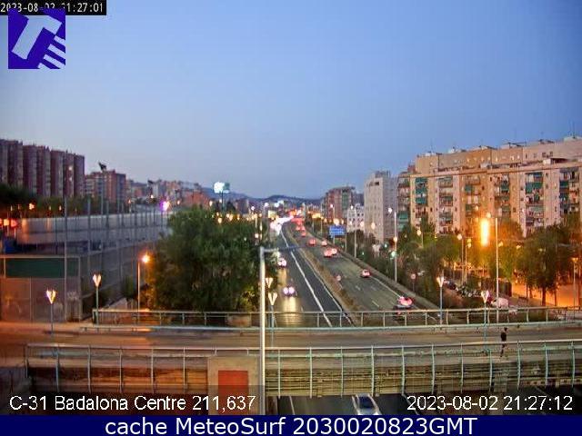 webcam Llefia Badalona Barcelona