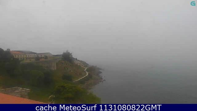 webcam Baiona Pontevedra