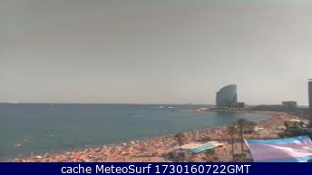 webcam Barceloneta Beach Barcelona