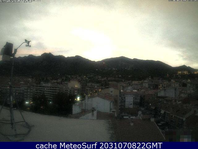 webcam Berga Barcelona