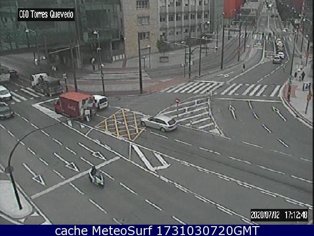 webcam Bilbao Vizcaya