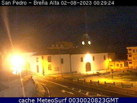 webcam San Pedro Breña Alta Santa Cruz de Tenerife