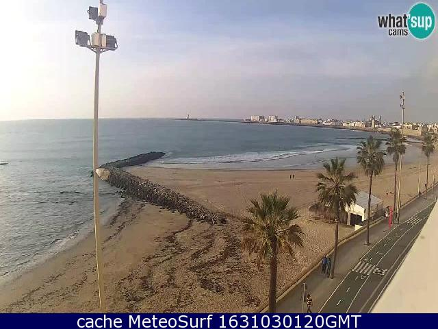 webcam Cadiz Playa Santa Maria Cadiz