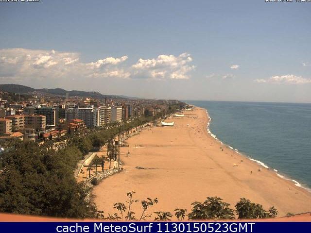 webcam Calella Costa del Maresme Barcelona