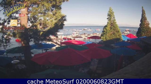 webcam Tahoe Lake El Dorado