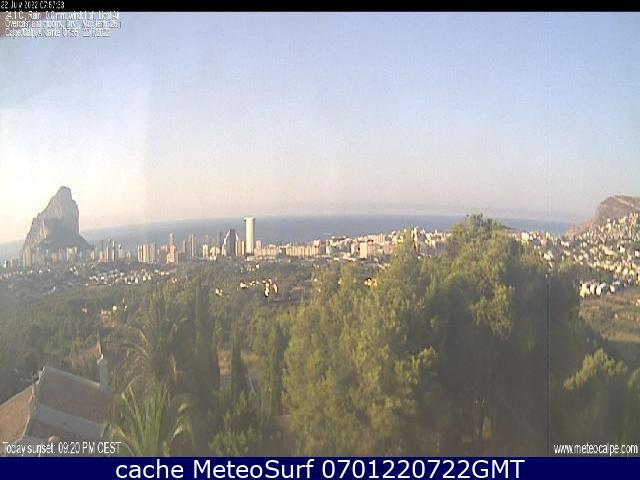 webcam Calpe Costa Blanca Alicante