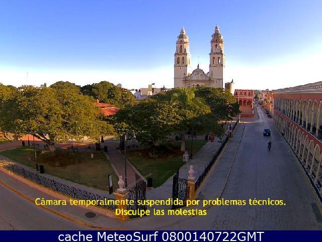 webcam Campeche Centro Campeche
