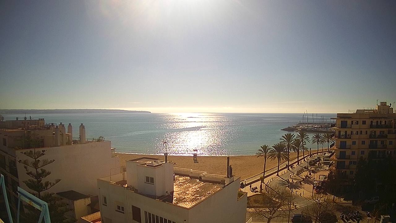 webcam Can Pastilla Playa de Palma Islas Baleares