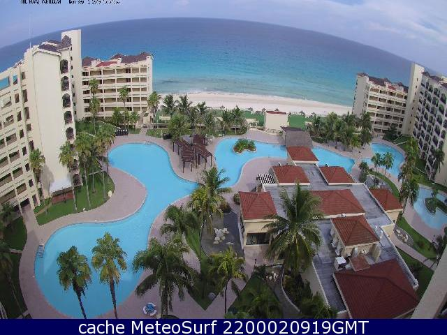 webcam Cancun Royal Caribbean Benito Jurez