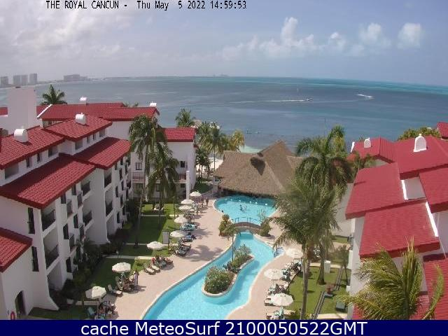 webcam Cancun Club Internacional Benito Juárez