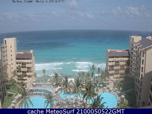 webcam Cancun Royal Islander Benito Juárez