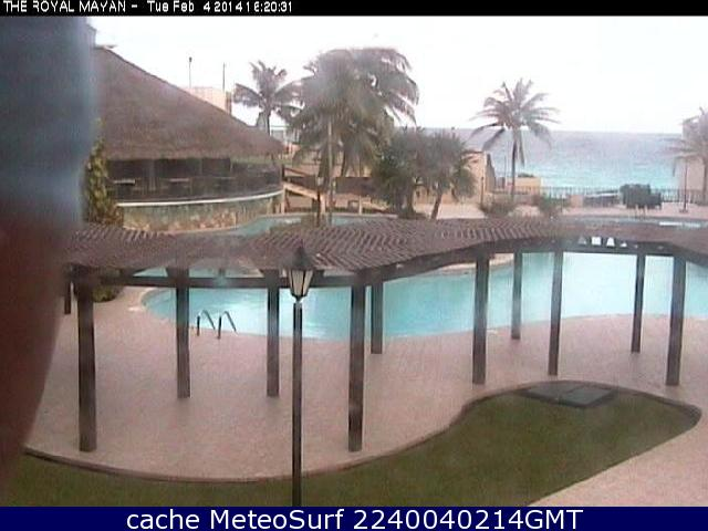 webcam Cancun Royal Mayan Benito Ju�rez