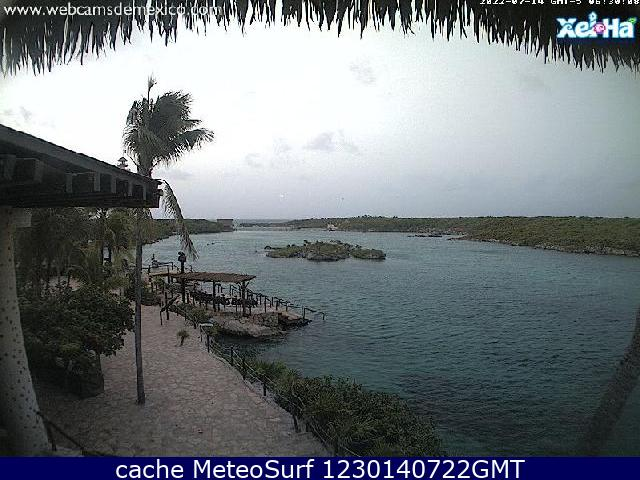 webcam Xel-ha Benito Juárez