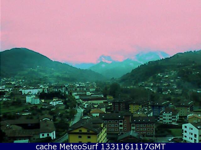 webcam Cangas de Onis Hotel Oriente