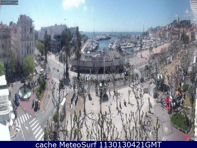 webcam Cannes Hotel Alpes Maritimes