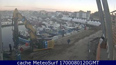 webcam Capbreton Port Landes