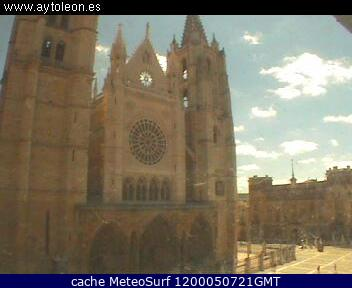 webcam Catedral de Leon Leon