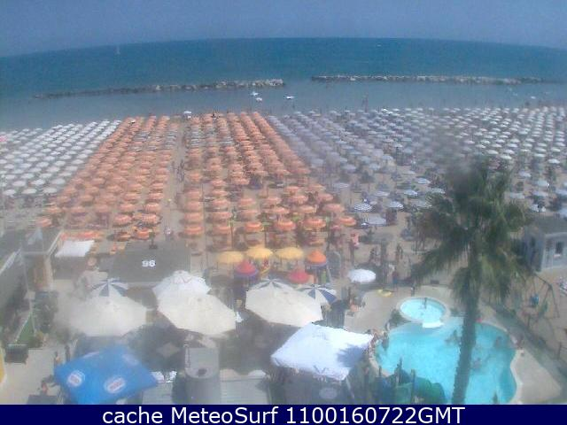 webcam Cattolica Ponente Rimini