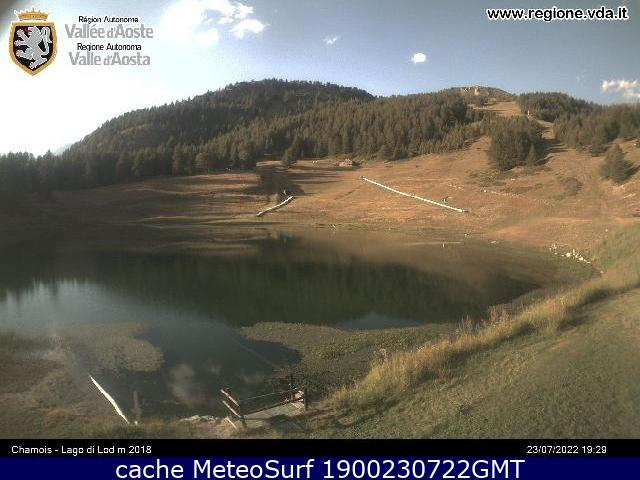 webcam Chamois Valle d Aosta