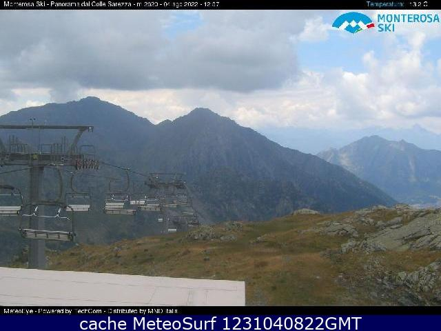 webcam Champoluc Panorama Valle d Aosta