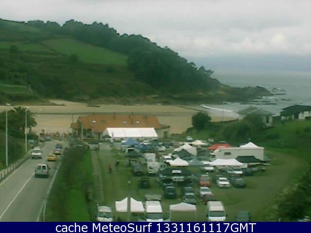 webcam Cobreces Costa occidental