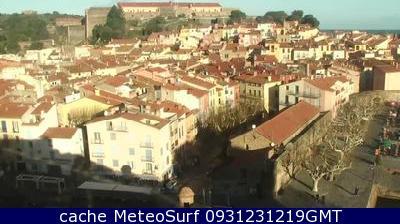 webcam Collioure Pyrénées Orientales