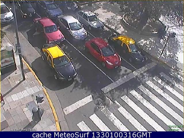 webcam Buenos Aires Av Cordoba y Cerrito Buenos Aires