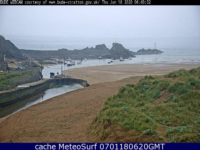 webcam Bude Breakwater Cornwall