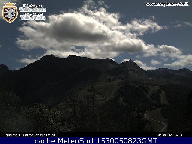 webcam Dzeleuna Courmayeur Ski Valle d Aosta