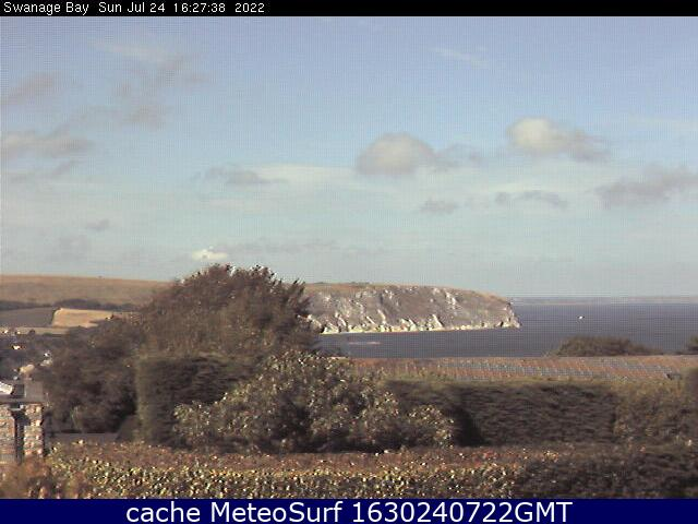 webcam Swanage Bay South West