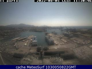 webcam Genova Porto Genova